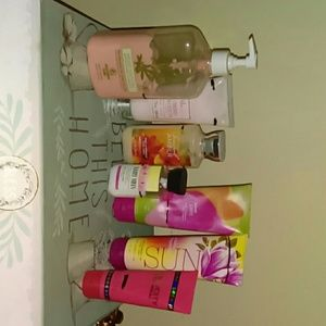 Lot of USED lotions
